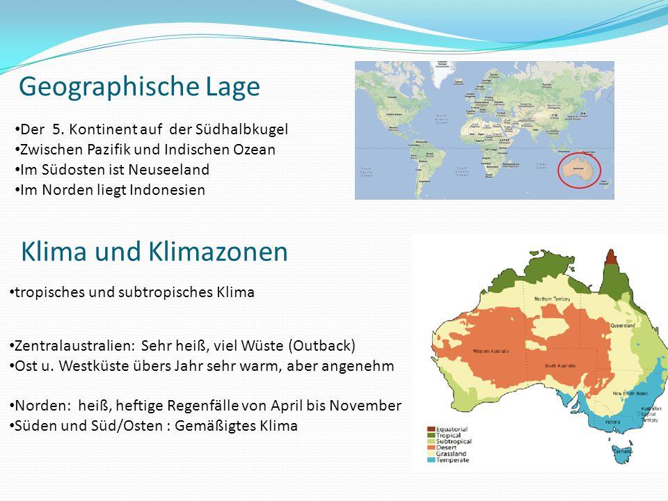 Geographische Lage Klima und Klimazonen