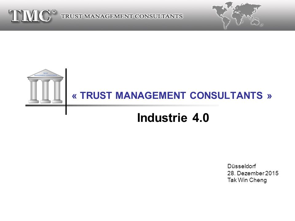 « TRUST MANAGEMENT CONSULTANTS »