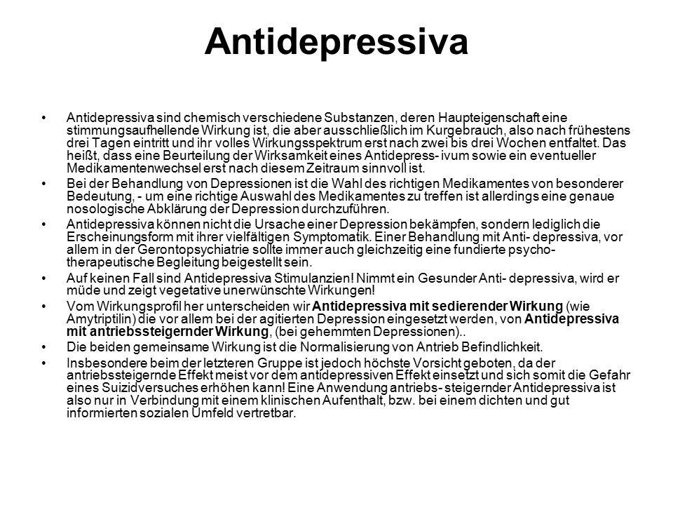 Antidepressiva