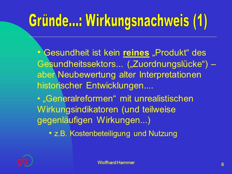 Gründe...: Wirkungsnachweis (1)