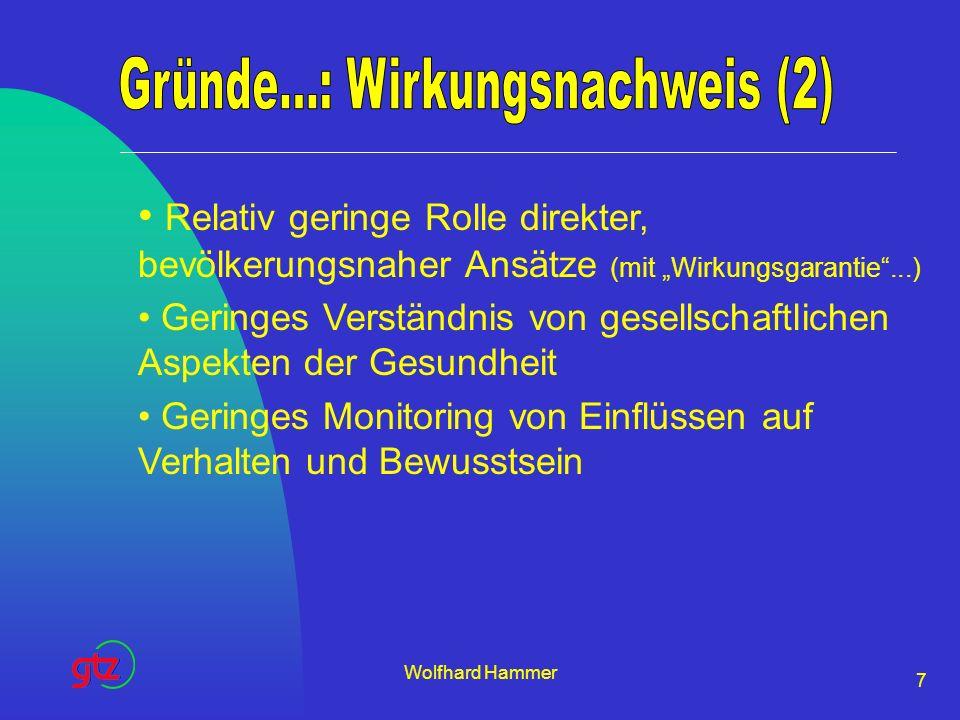 Gründe...: Wirkungsnachweis (2)