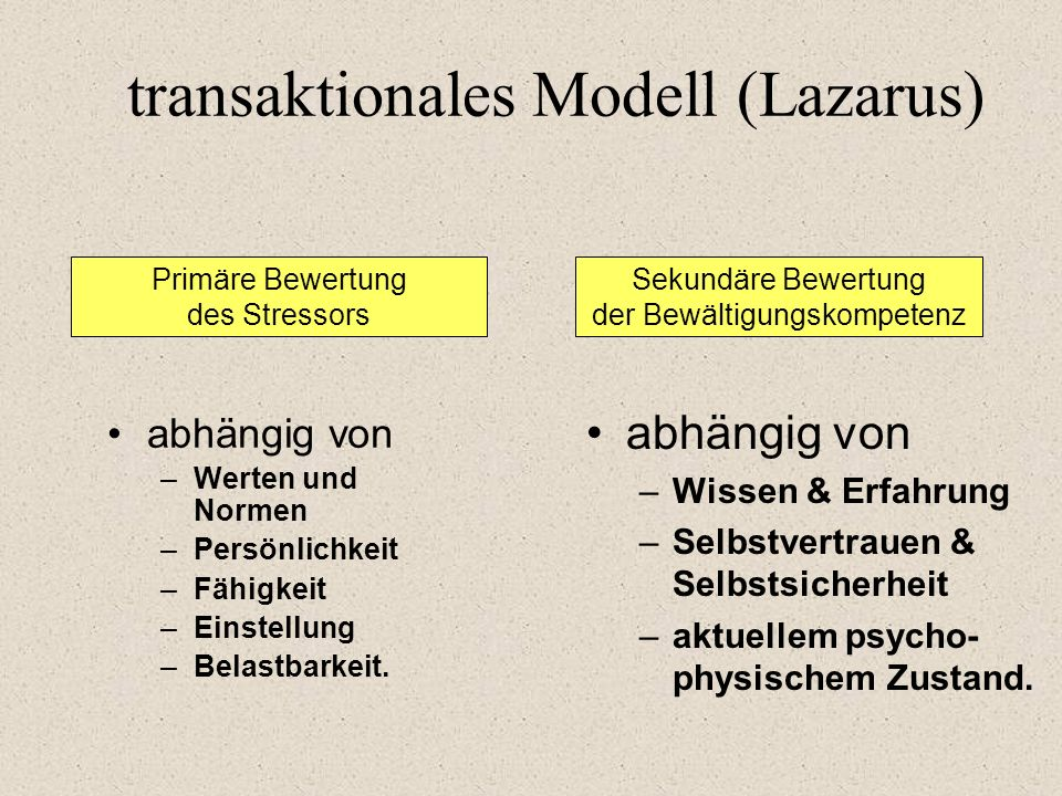 transaktionales Modell (Lazarus)