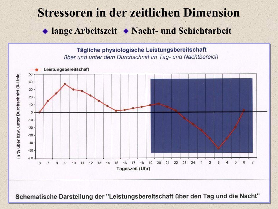 Stressoren in der zeitlichen Dimension
