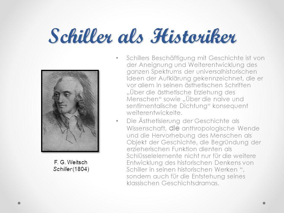 Schiller als Historiker