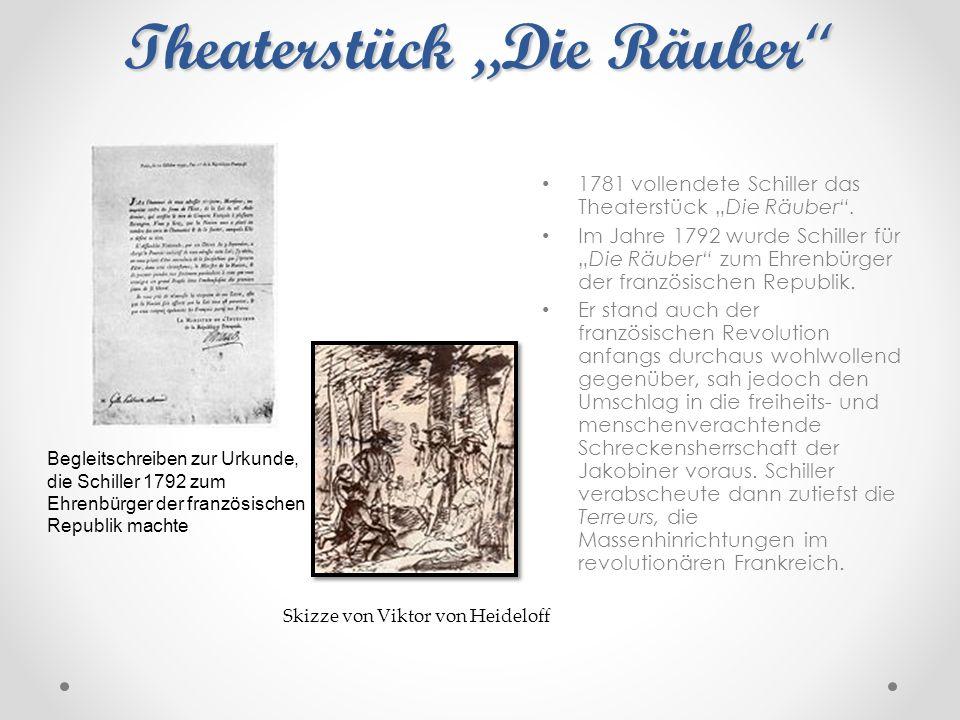 """Theaterstück """"Die Räuber"""
