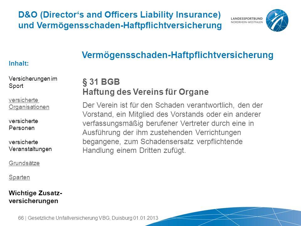 Vermögensschaden-Haftpflichtversicherung