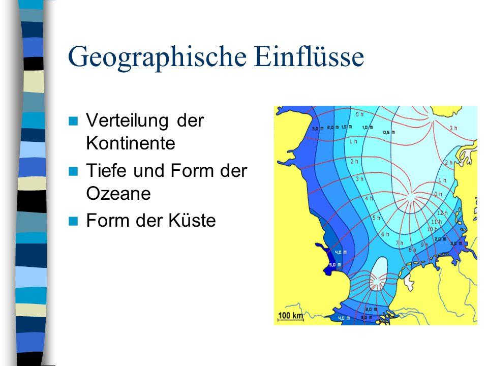 Geographische Einflüsse