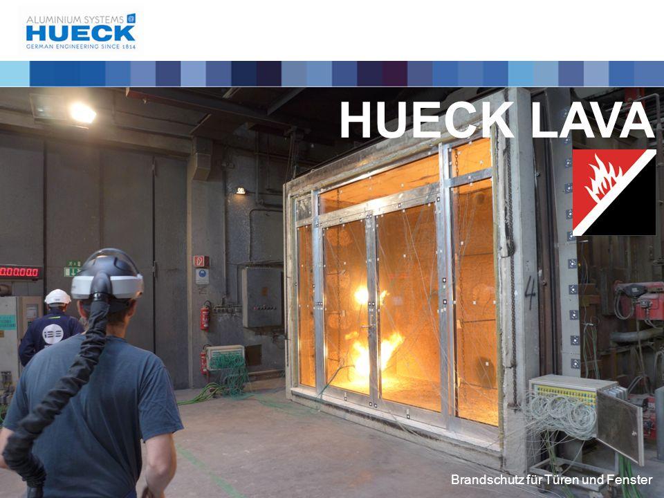 HUECK LAVA Brandschutz für Türen und Fenster