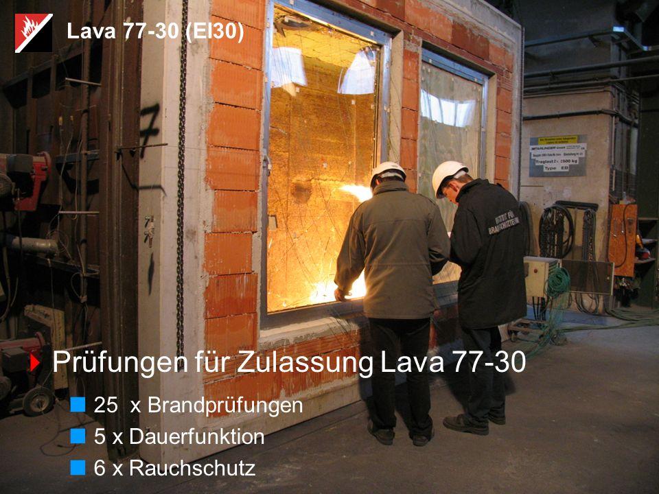 Prüfungen für Zulassung Lava 77-30