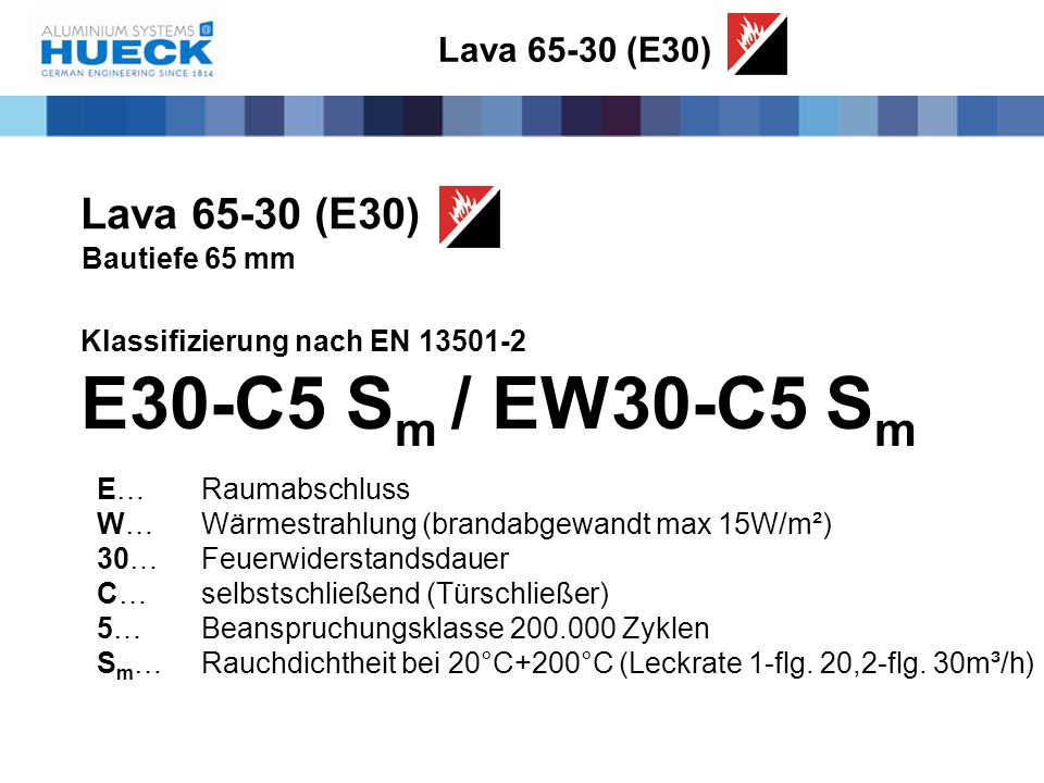 E30-C5 Sm / EW30-C5 Sm Lava 65-30 (E30) Lava 65-30 (E30)