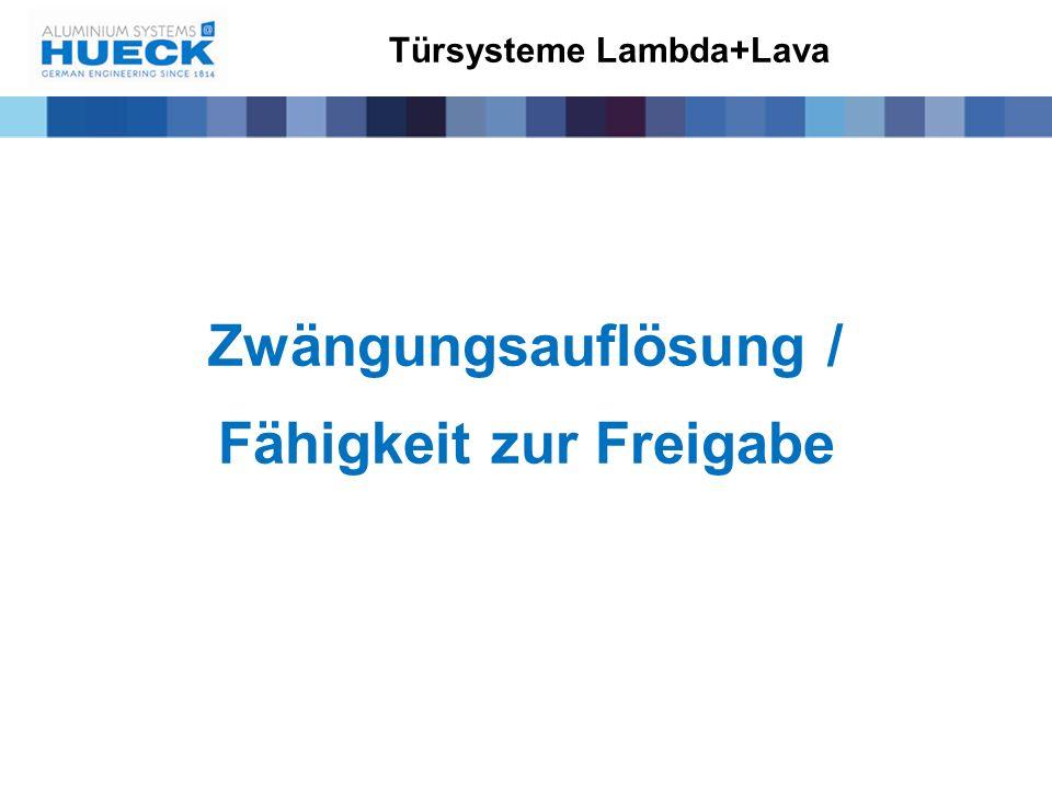 Türsysteme Lambda+Lava
