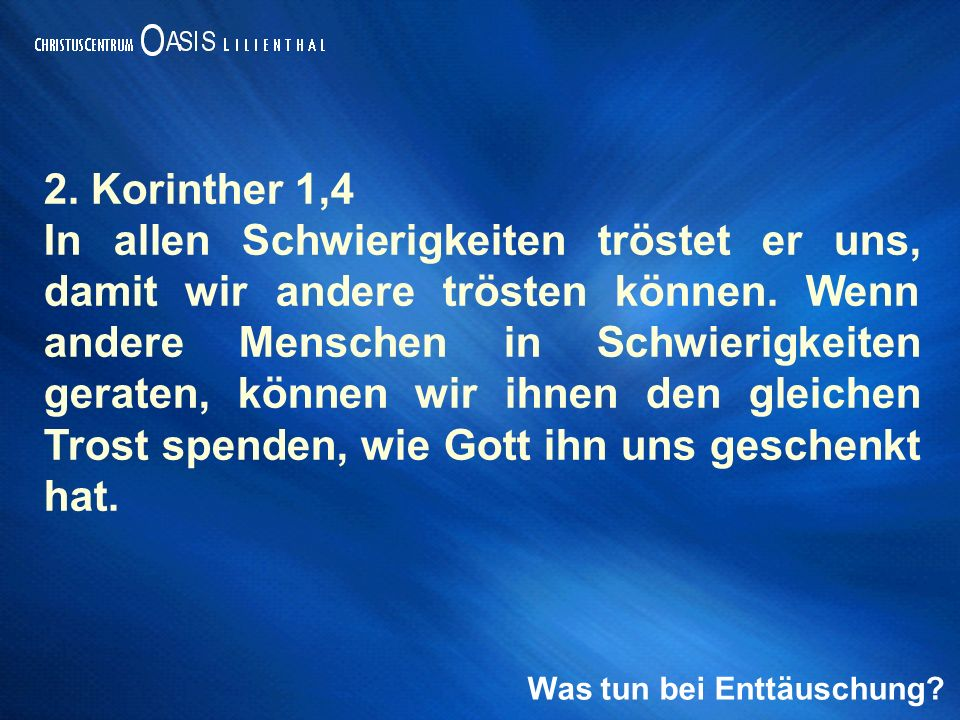 2. Korinther 1,4