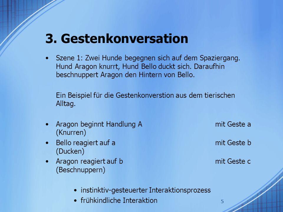 3. Gestenkonversation