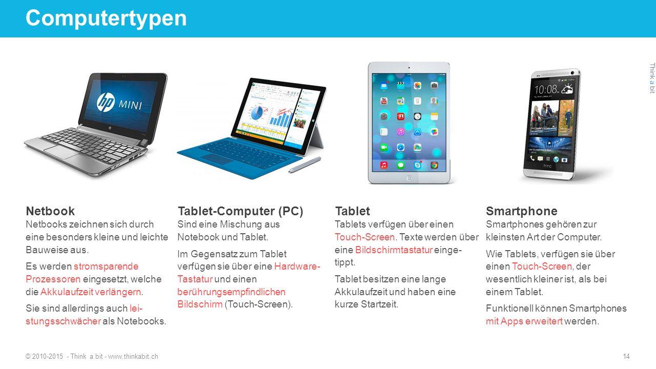 Computertypen Netbook Tablet-Computer (PC) Tablet Smartphone