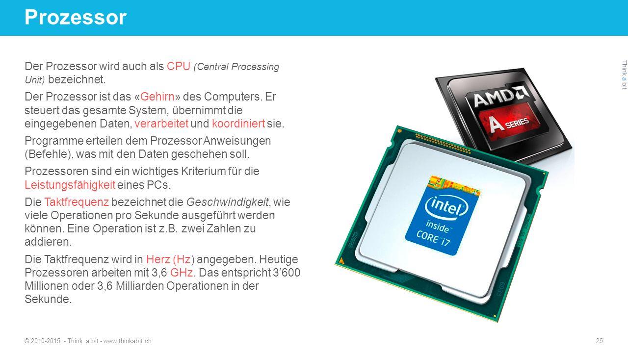 Prozessor 27.04.2017. http://thinkabit.ch.