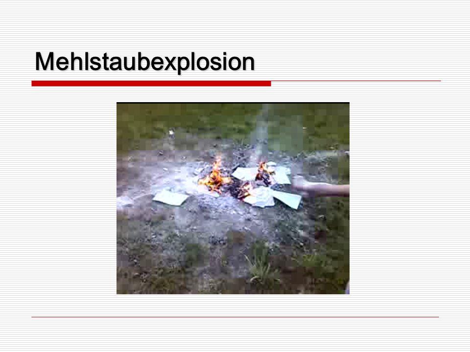 Mehlstaubexplosion