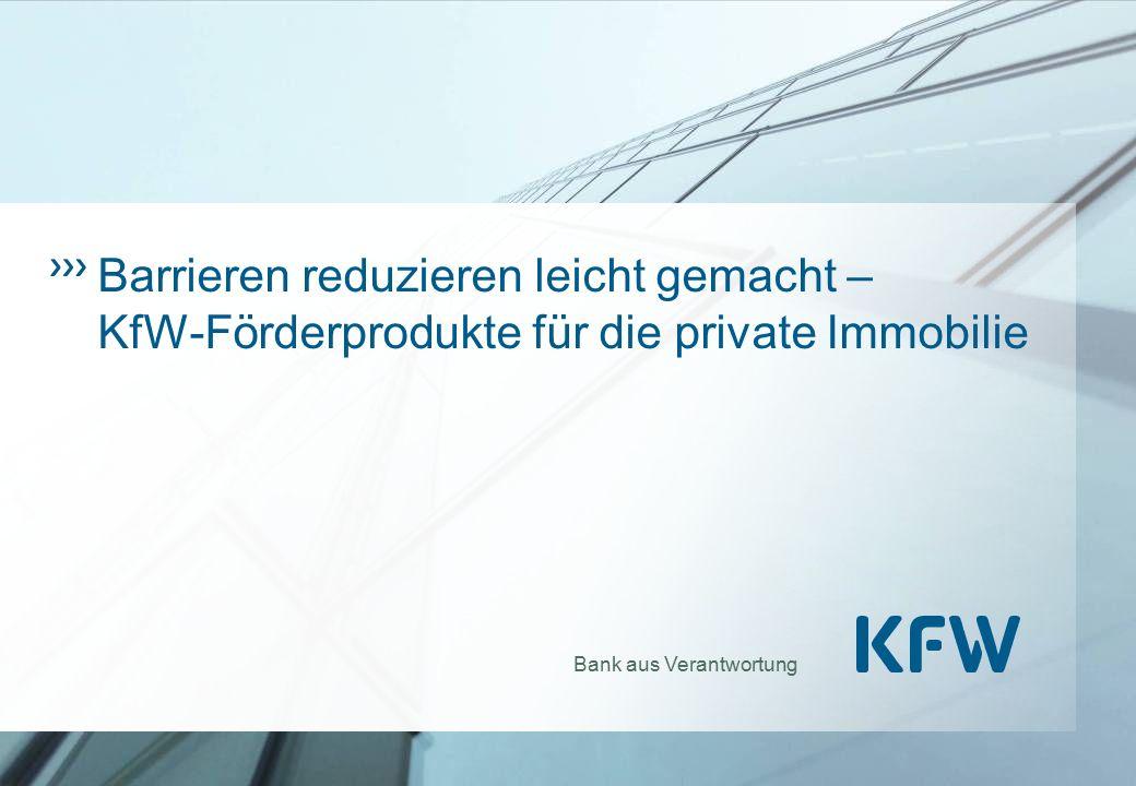 Barrieren reduzieren leicht gemacht – KfW-Förderprodukte für die private Immobilie