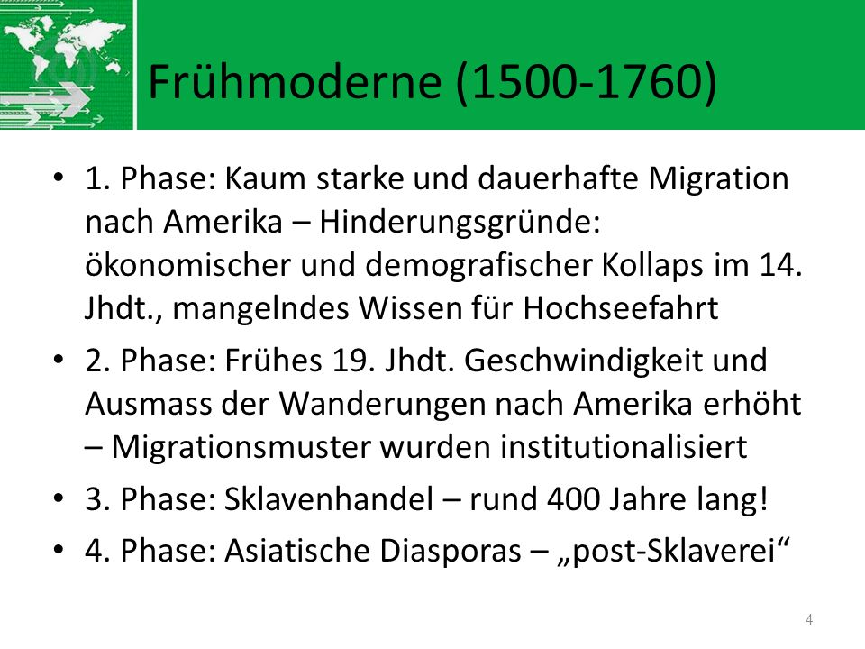 Frühmoderne (1500-1760)