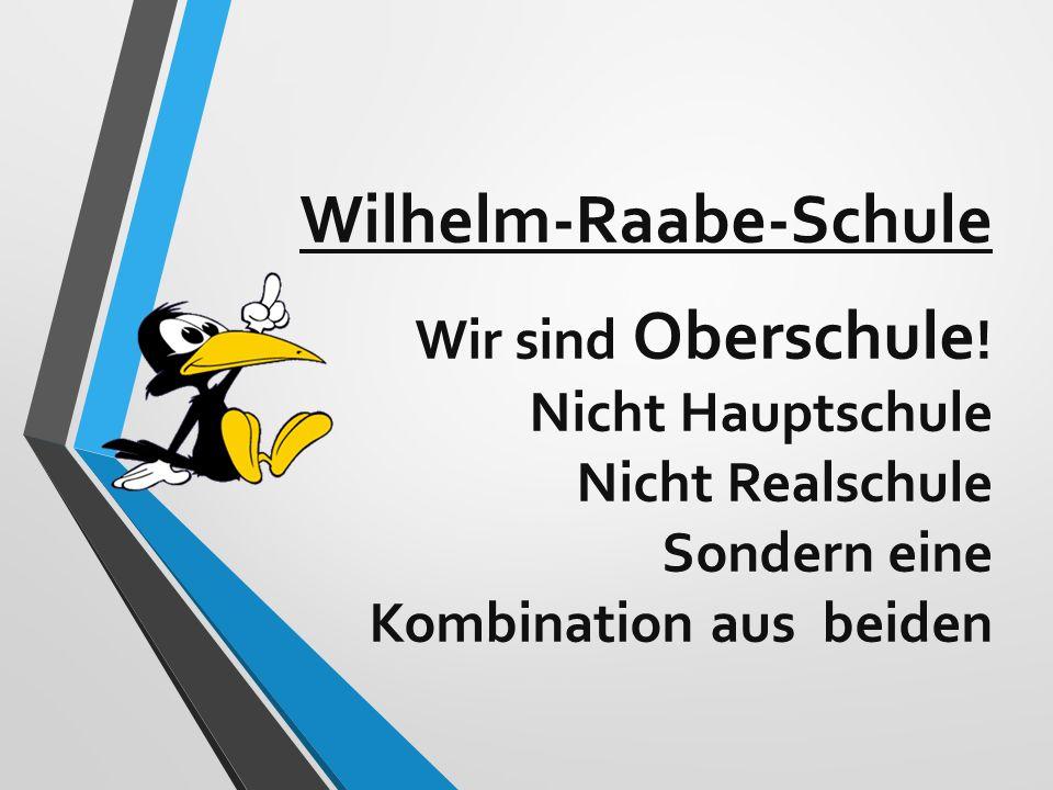 Wilhelm-Raabe-Schule Wir sind Oberschule