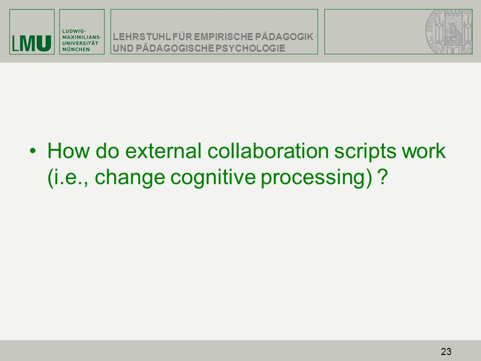 How do external collaboration scripts work (i. e