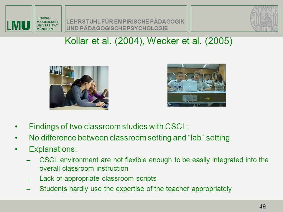 Kollar et al. (2004), Wecker et al. (2005)