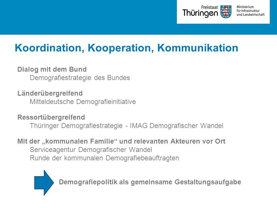 Koordination, Kooperation, Kommunikation