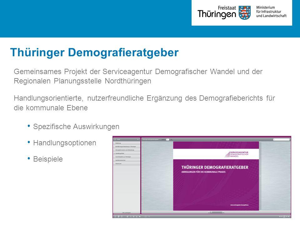 Thüringer Demografieratgeber