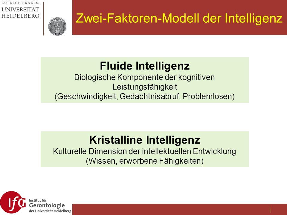 Zwei-Faktoren-Modell der Intelligenz