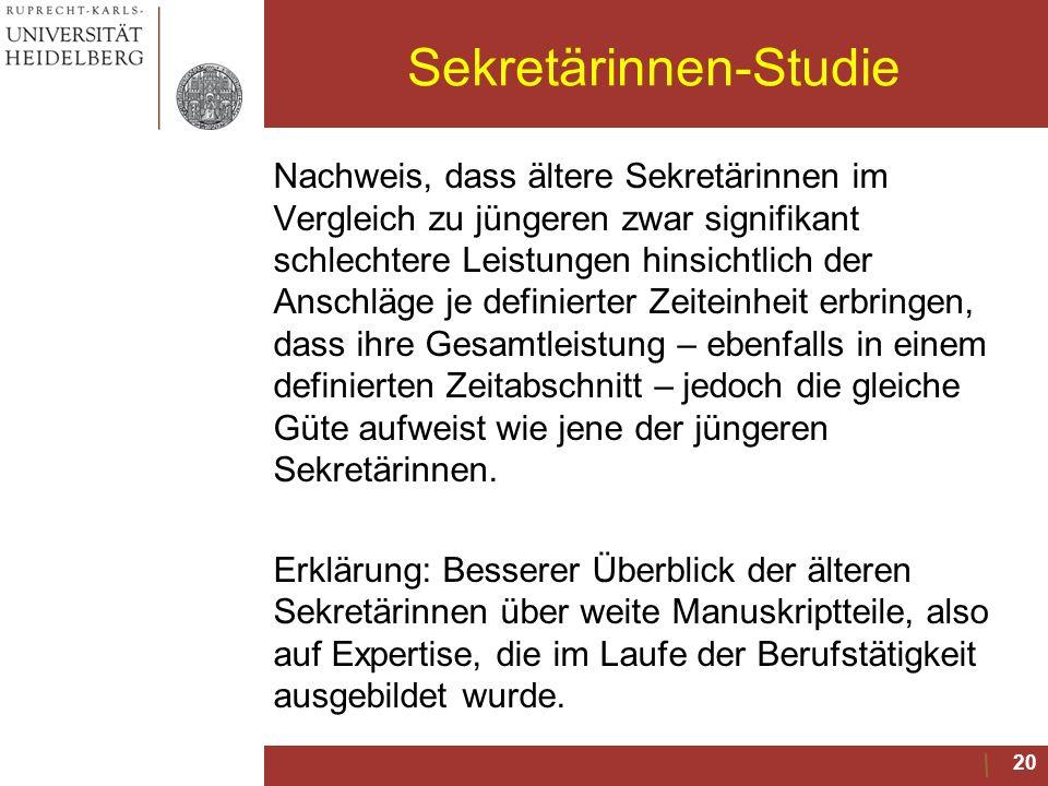 Sekretärinnen-Studie