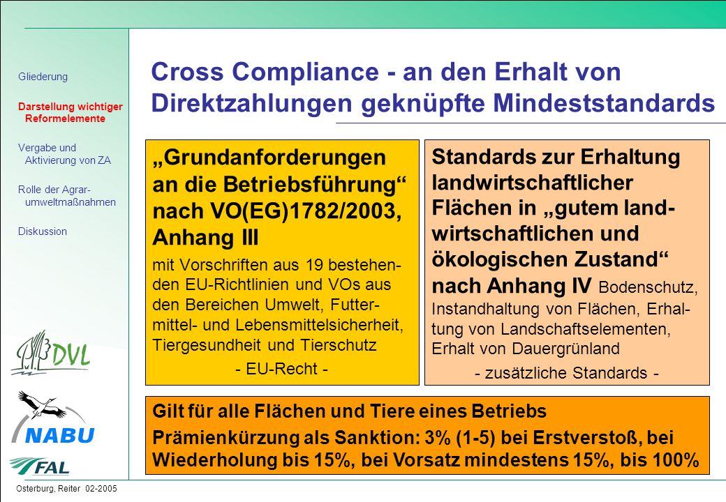 - zusätzliche Standards -