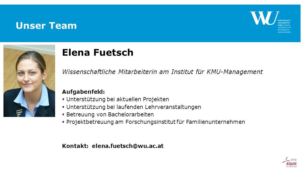 Unser Team Elena Fuetsch