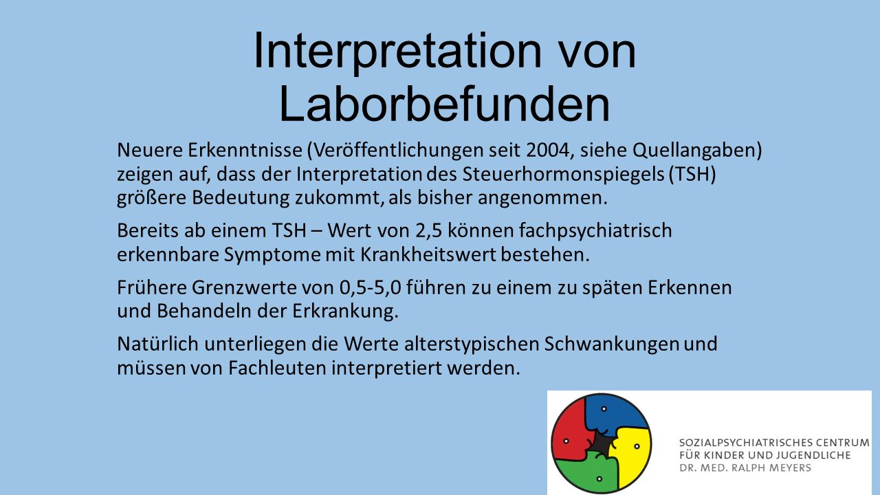 Interpretation von Laborbefunden