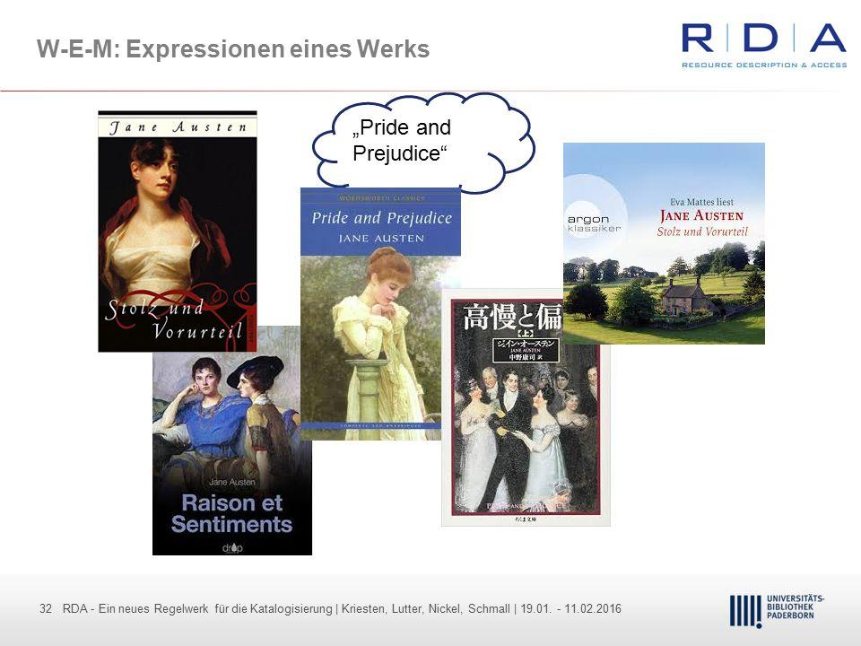 W-E-M: Expressionen eines Werks