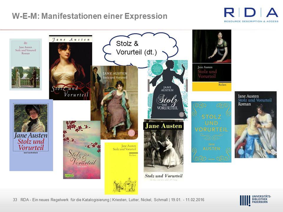 W-E-M: Manifestationen einer Expression