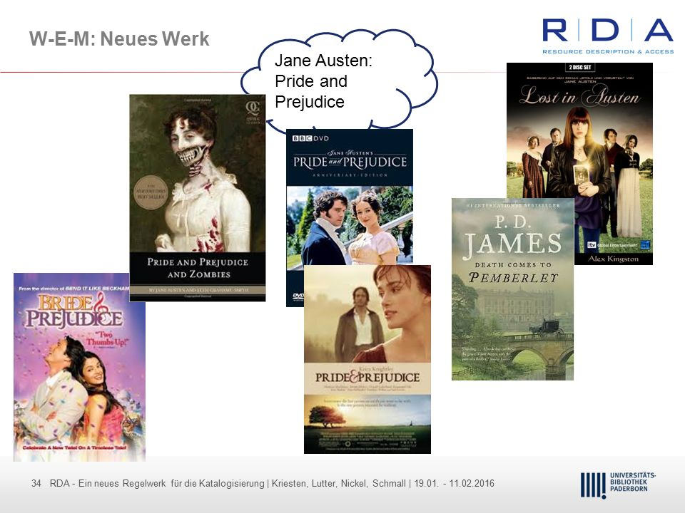 W-E-M: Neues Werk Jane Austen: Pride and Prejudice