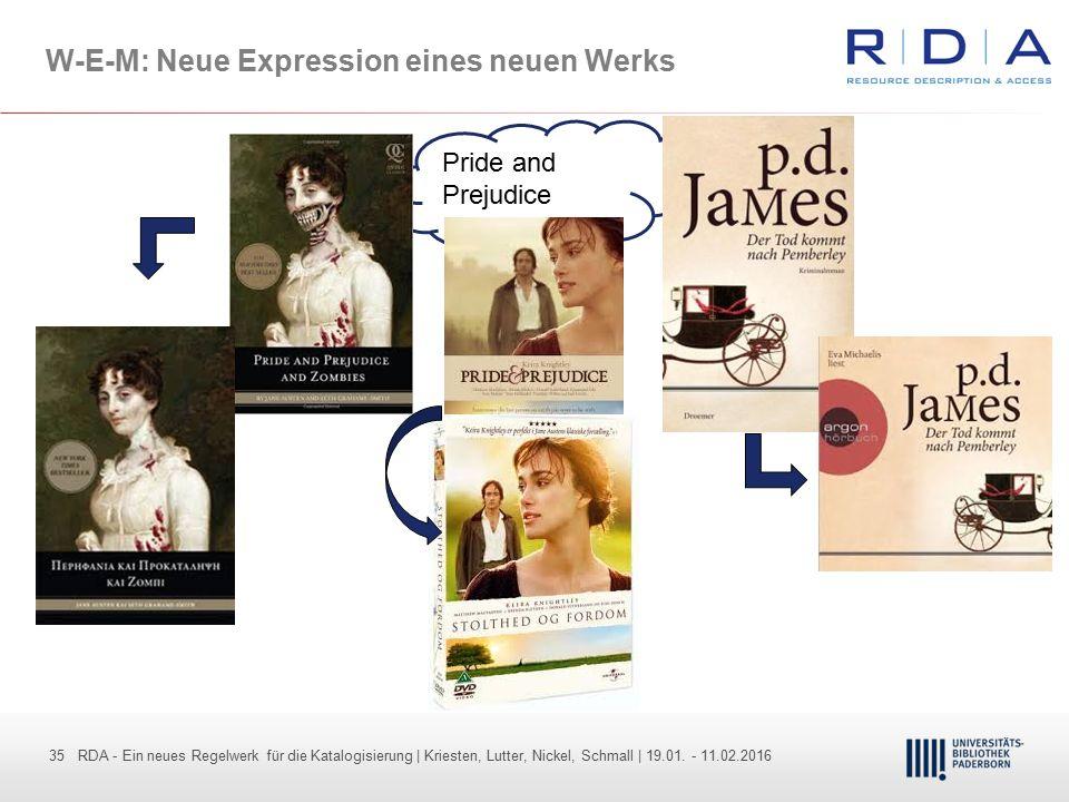 W-E-M: Neue Expression eines neuen Werks