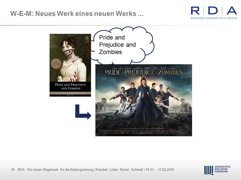 W-E-M: Neues Werk eines neuen Werks ...