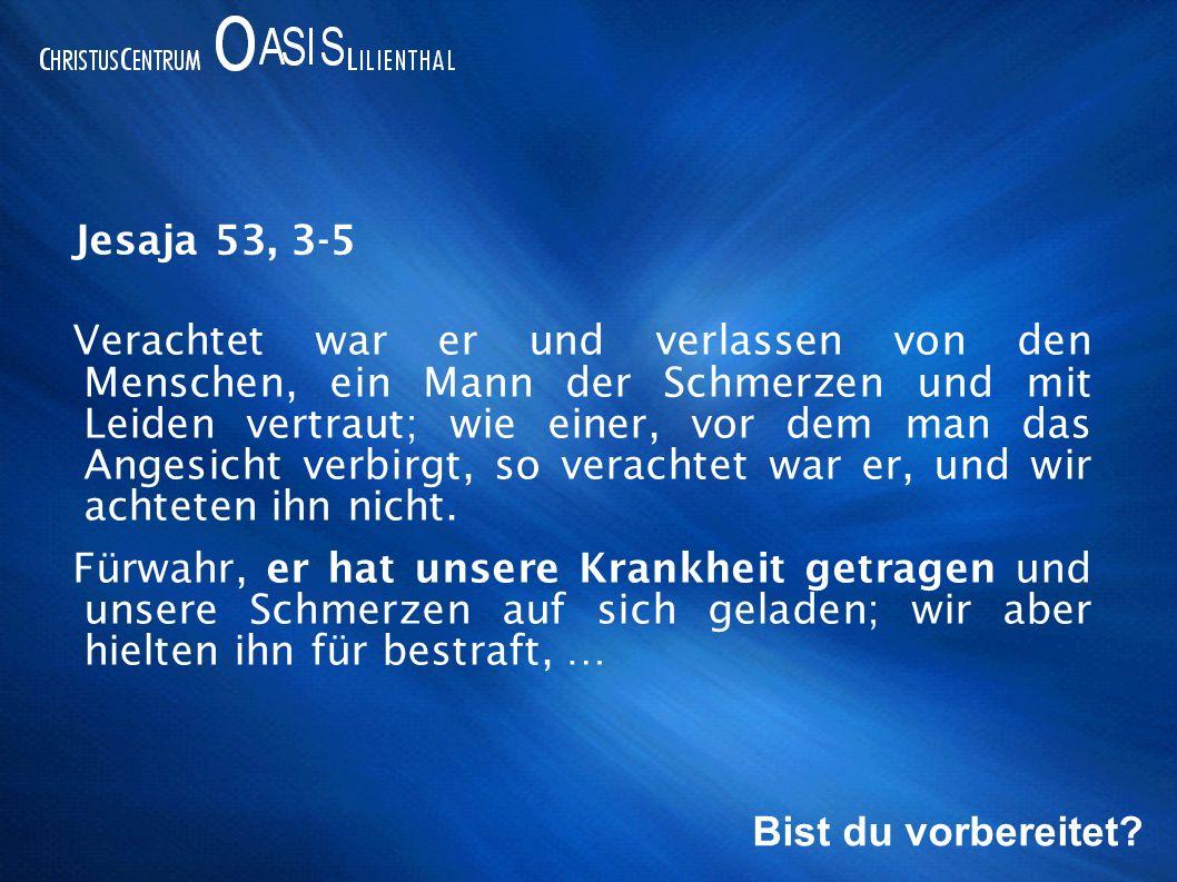 Jesaja 53, 3-5