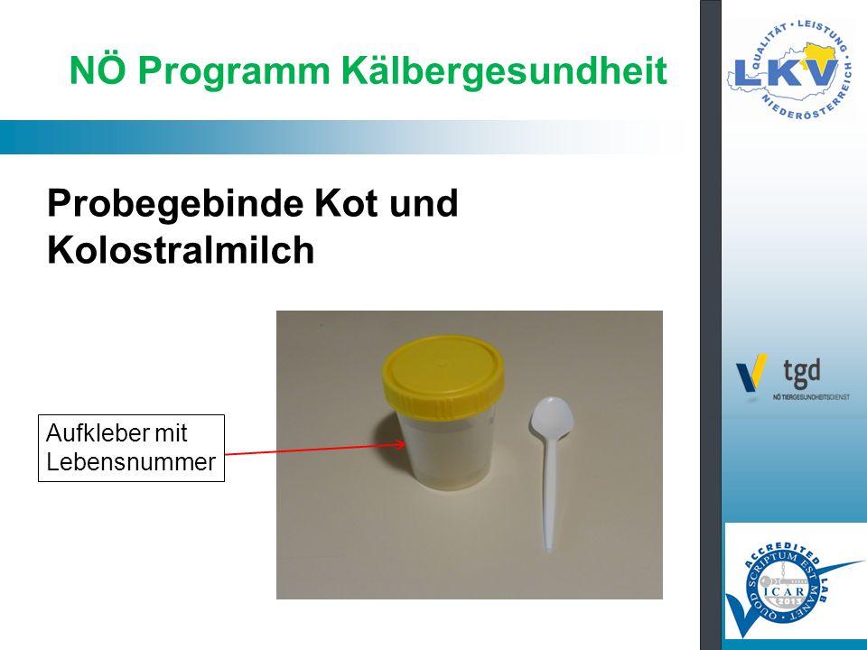 NÖ Programm Kälbergesundheit