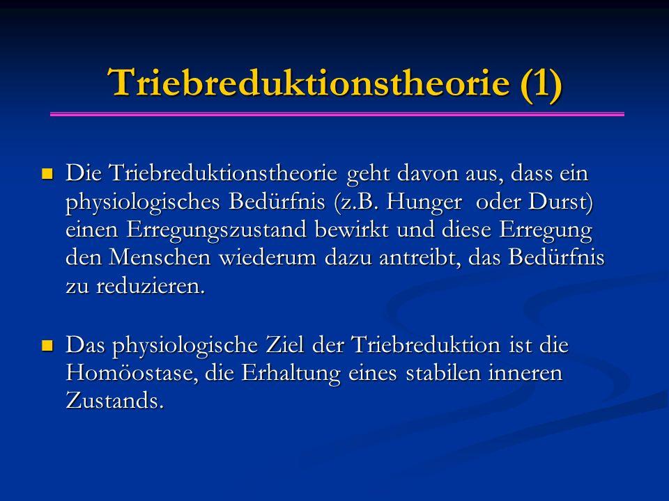 Triebreduktionstheorie (1)