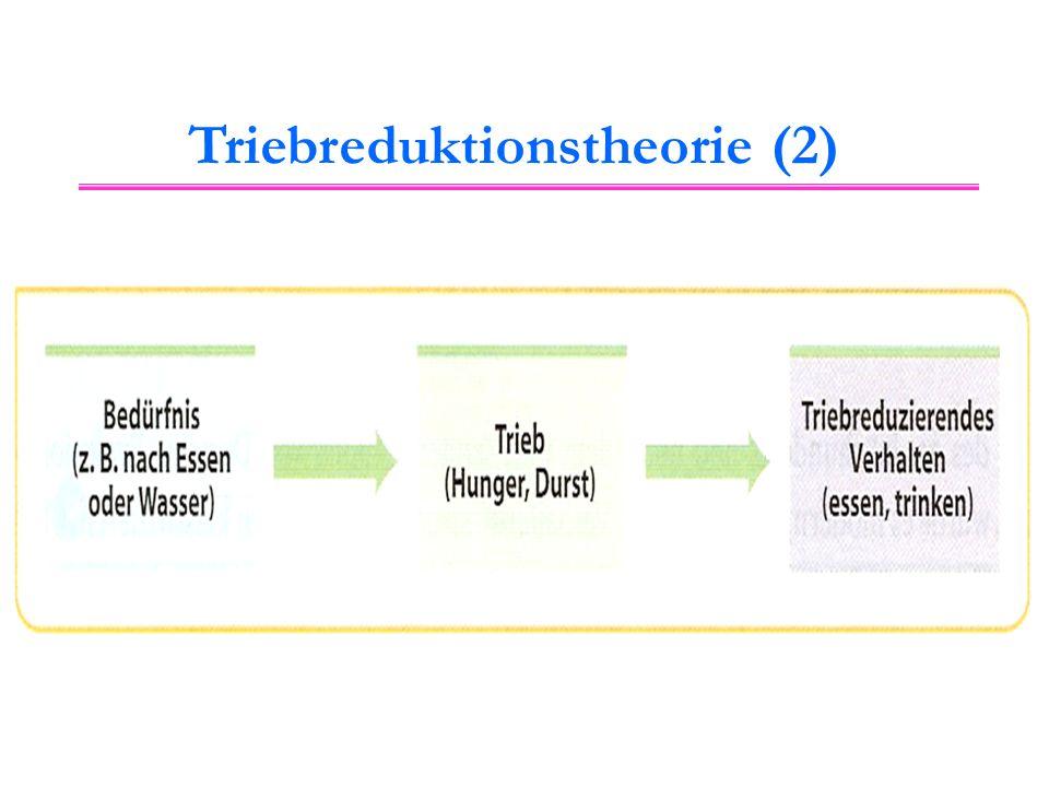 Triebreduktionstheorie (2)