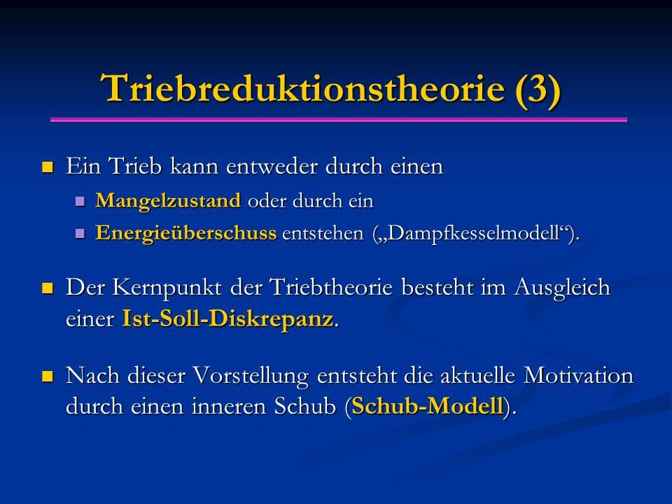 Triebreduktionstheorie (3)