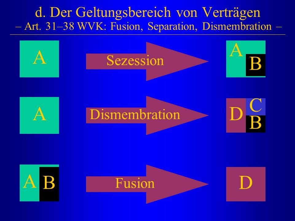 d. Der Geltungsbereich von Verträgen – Art