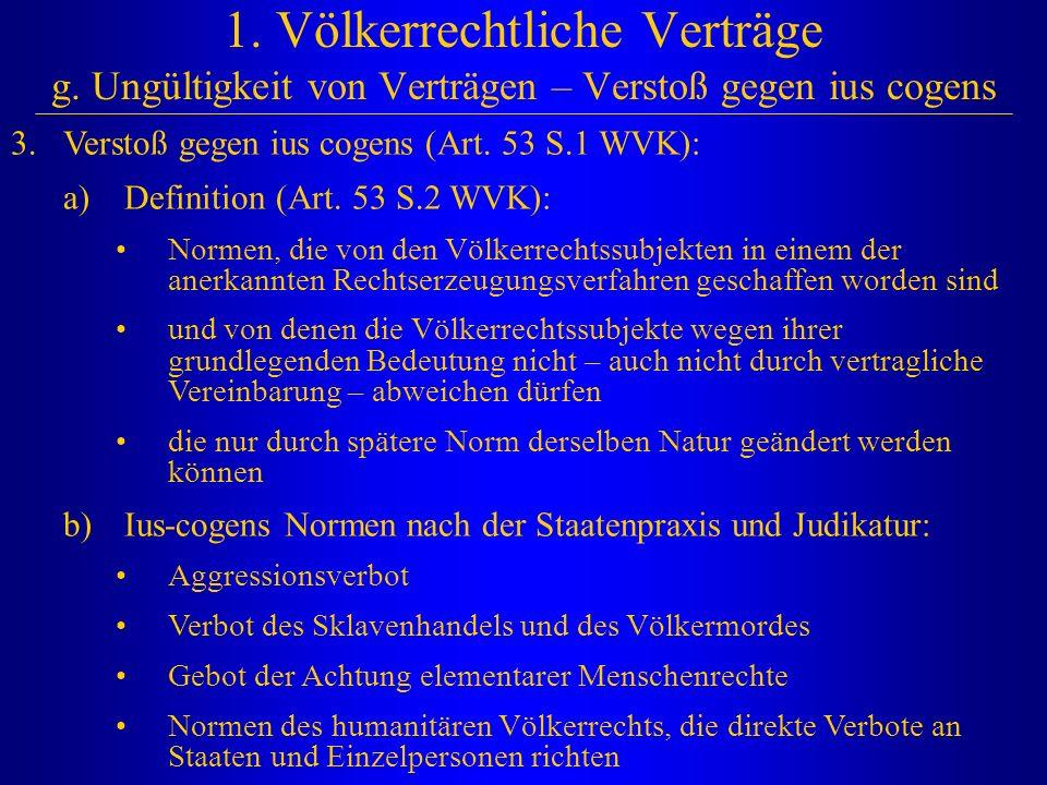 1. Völkerrechtliche Verträge g