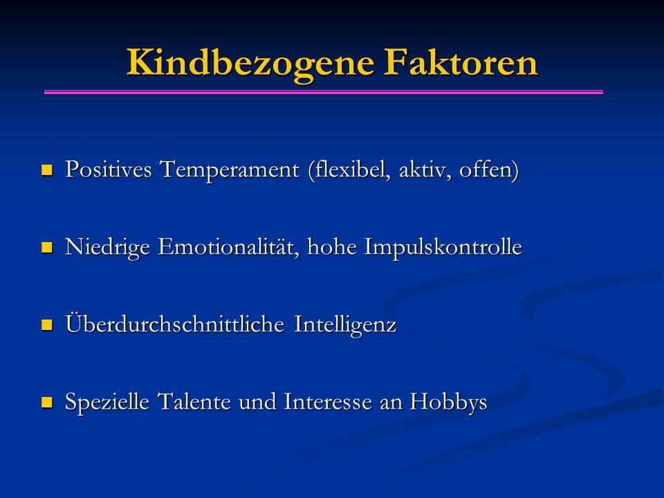 Kindbezogene Faktoren