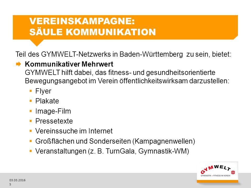Vereinskampagne: Säule Kommunikation