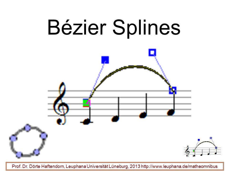 Bézier Splines Prof. Dr.