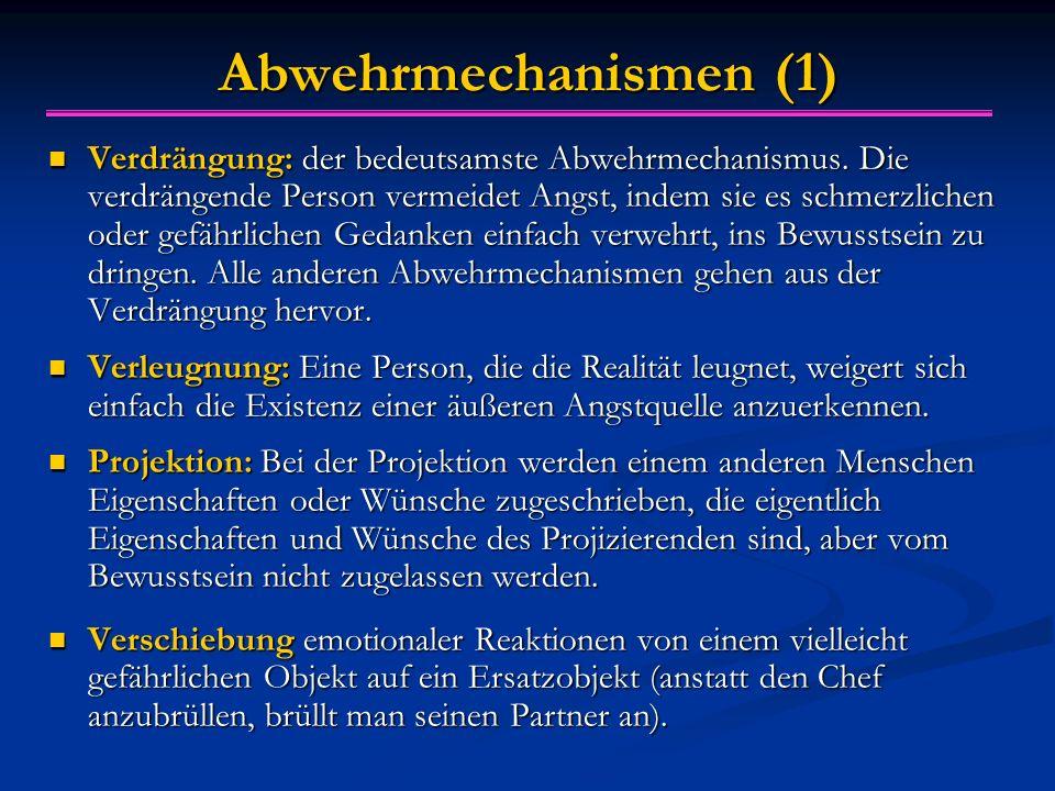 Abwehrmechanismen (1)