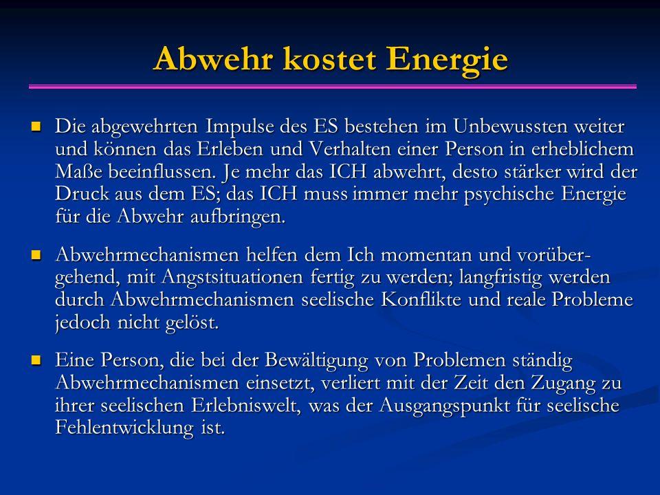 Abwehr kostet Energie