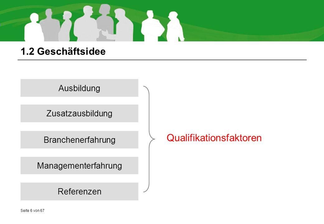 Qualifikationsfaktoren